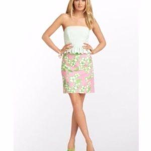 Lilly Pulitzer Lowe Peplum Dress